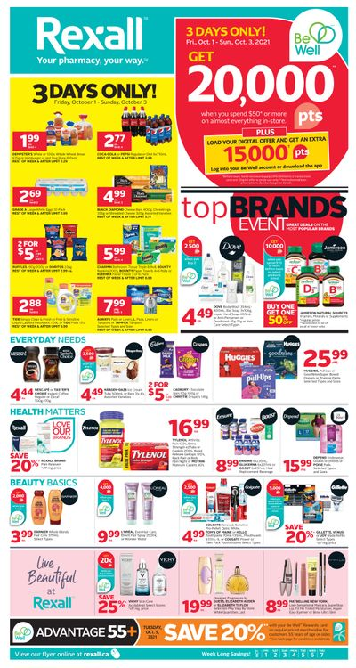 Rexall (ON) Flyer October 1 to 7