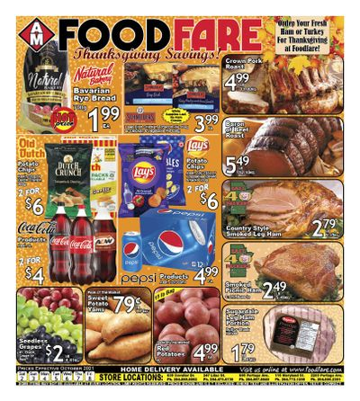 Food Fare Flyer October 2 to 8