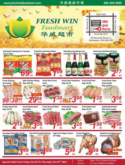 Fresh Win Foodmart Flyer October 1 to 7