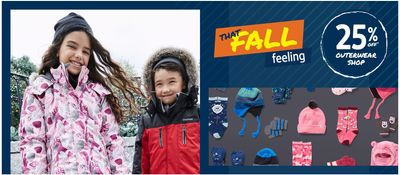 Carter's OshKosh B'gosh Canada Sale: Save 25% off Cozy Cold-Weather Accessories for Baby, Toddler & Kids + More Offers