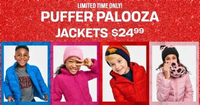The Children's Place Canada Deals: Puffer Palooza Jackets $24.99 + Save Up to 60% OFF Many Items + More