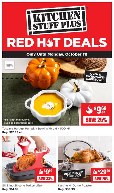 Kitchen Stuff Plus Red Hot Deals Flyer October 4 to 11