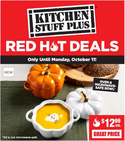 Kitchen Stuff Plus Canada Red Hot Deals: Save 33% on Sili Sling Silicone Turkey Lifter + More Offers