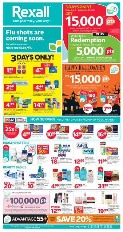 Rexall (ON) Flyer October 8 to 14