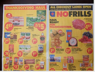 Ontario Flyer Sneak Peeks October 7th – 13th: No Frills, Freshco, and Food Basics