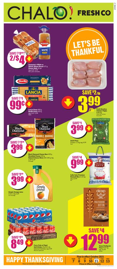 Chalo! FreshCo (ON) Flyer October 7 to 13