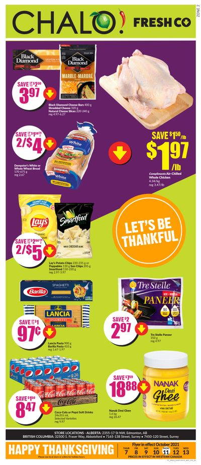 Chalo! FreshCo (West) Flyer October 7 to 13