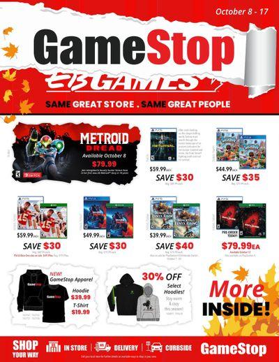 GameStop Flyer October 8 to 17