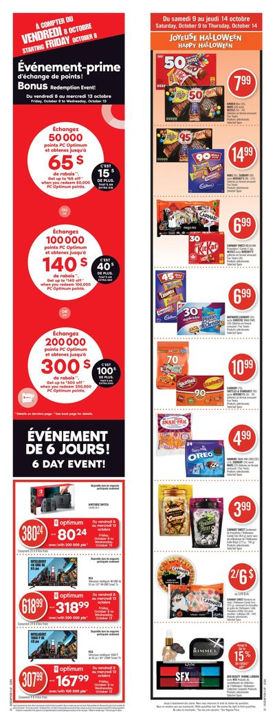 Pharmaprix Flyer October 9 to 14