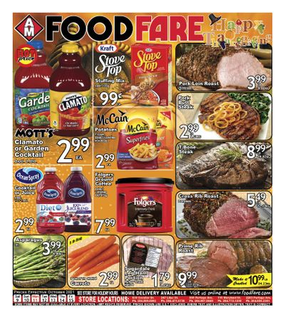 Food Fare Flyer October 9 to 15
