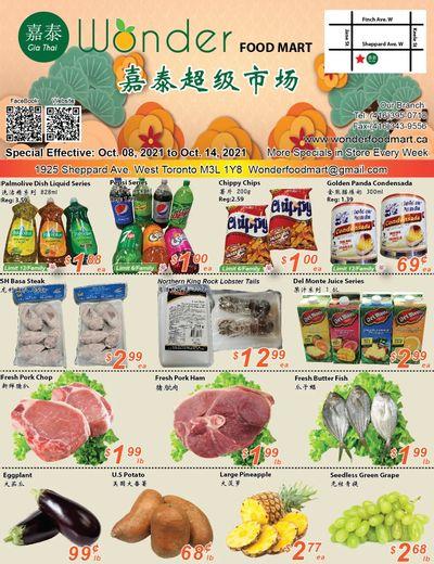 Wonder Food Mart Flyer October 8 to 14