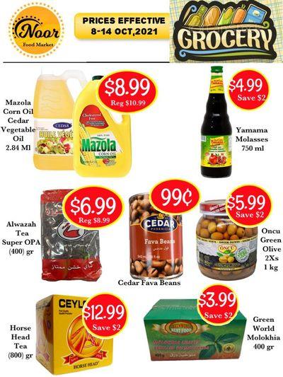 Noor Food Market Flyer October 8 to 14