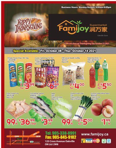 Famijoy Supermarket Flyer October 8 to 14