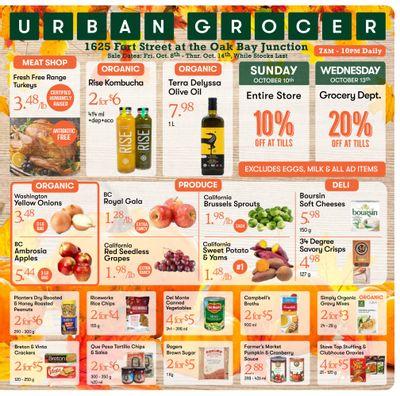 Urban Grocer Flyer October 8 to 14