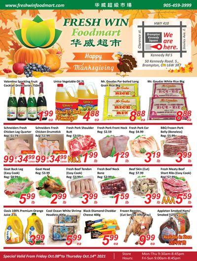 Fresh Win Foodmart Flyer October 8 to 14