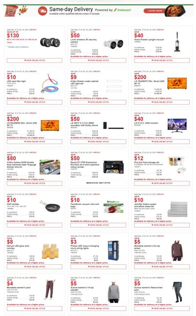 Costco Canada MoreSavings Weekly Coupons/Flyers: All Costco Wholesale Warehouses in Canada Until October 24