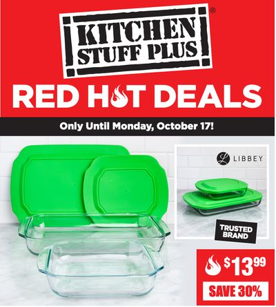 Kitchen Stuff Plus Canada Red Hot Deals: Save 40% on Nook Corner Wall Shelf + More Offers