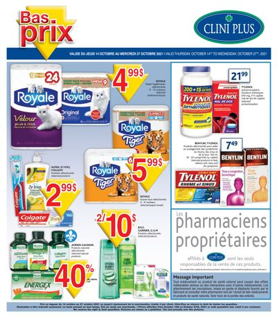 Clini Plus Flyer October 14 to 27