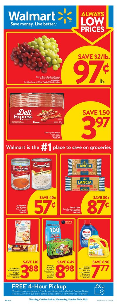 Walmart (ON) Flyer October 14 to 20