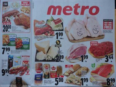 Ontario Flyer Sneak Peeks: Metro and Walmart Ontario