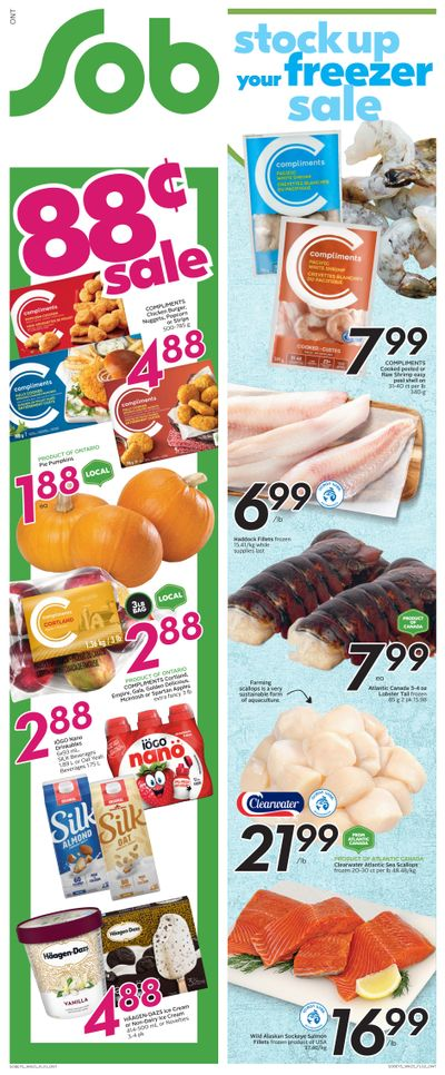 Sobeys (ON) Flyer October 14 to 20