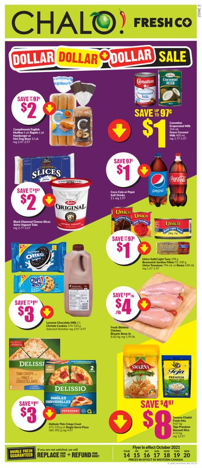 Chalo! FreshCo (West) Flyer October 14 to 20