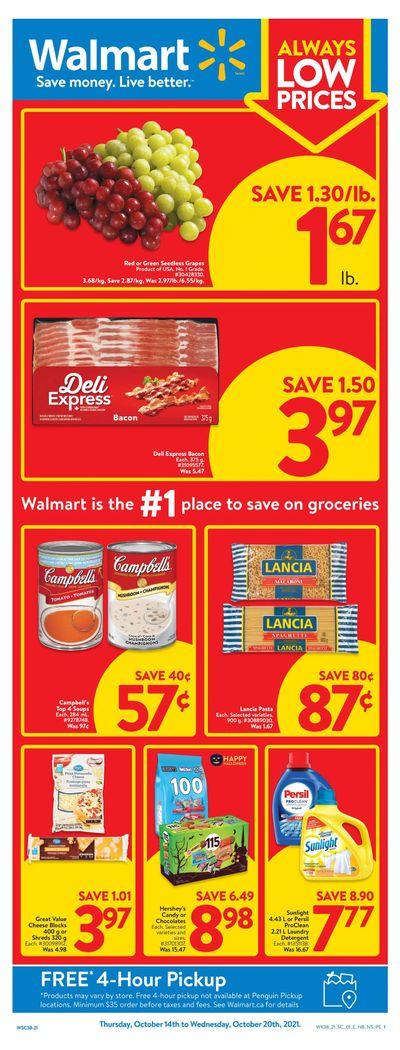 Walmart (Atlantic) Flyer October 14 to 20