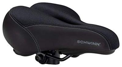 Schwinn Commute Gateway Adult Gel Bike Seat, Saddle with Pressure Relief Channel, Black $36.69 (Reg $43.17)