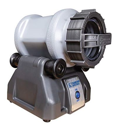 Frankford Arsenal Platinum Series Rotary Tumbler Lite and Media Separator for Cleaning and Polishing During Reloading, Multi, 1097878 $134.49 (Reg $179.58)