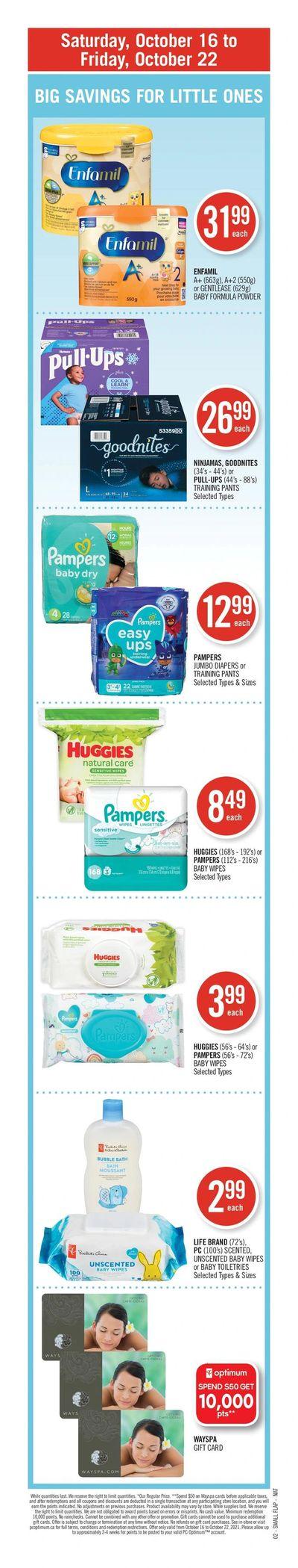 Shoppers Drug Mart (Atlantic) Flyer October 16 to 22