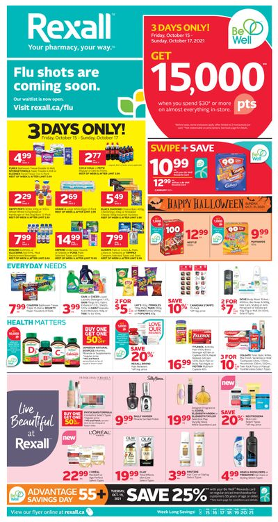 Rexall (BC) Flyer October 15 to 21