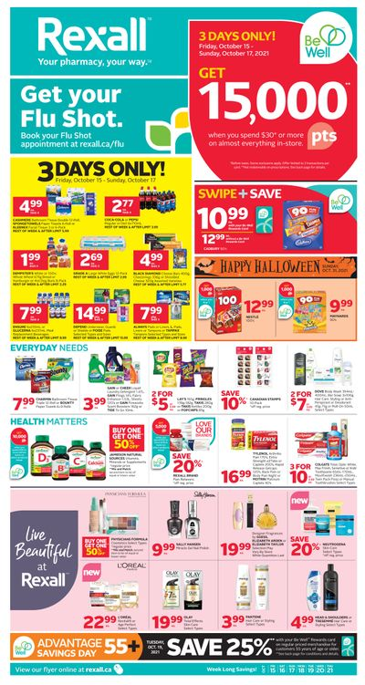 Rexall (ON) Flyer October 15 to 21