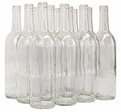 Home Brew Ohio B01EI3A6S0 FBA_Does Not Apply 6 Gallon Set: Clear Claret/Bordeaux (36 Bottles) $80.66 (Reg $104.50)