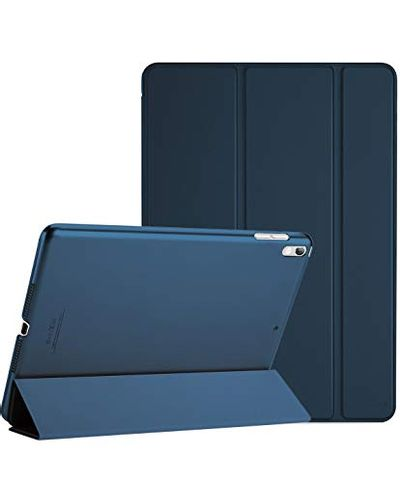 """ProCase iPad Air (3rd Gen) 10.5"""" 2019 / iPad Pro 10.5"""" 2017 Case, Ultra Slim Lightweight Stand Smart Case Shell with Translucent Frosted Back Cover for Apple iPad Air (3rd Gen) 10.5"""" 2019 –Navy Blue $14.99 (Reg $29.99)"""