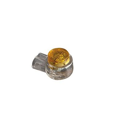 Klein Tools VDV826-604 Splice Connector-IDC UY, 2-Wire, Yellow, 26-22AWG, 25-Pack $6.92 (Reg $17.91)