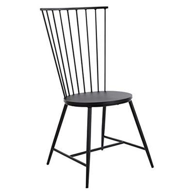 "OSP Home Furnishings BRY6519-3 OSP Designs Bryce 26"" Dining Chair, Black $201.28 (Reg $294.49)"