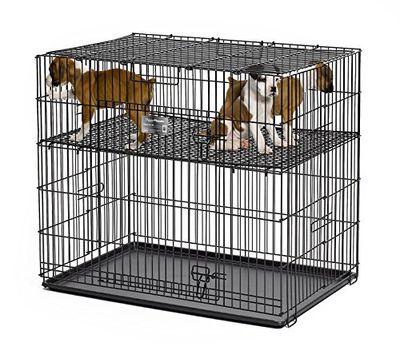 "Midwest Puppy Playpen with 1/2 Inch Mesh Floor Grid, 24"" L (Model 224-05) $142.97 (Reg $167.09)"