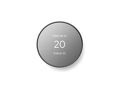 Google Nest Thermostat - Smart Thermostat for Home - Programmable WiFi Thermostat - Charcoal $129.99 (Reg $179.99)
