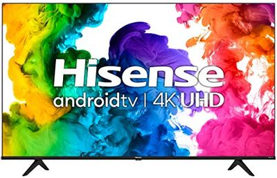 """Hisense 55A68G - 55"""" Smart TV Ultra HD 4K Dolby Vision HDR10 Android Television with Bluetooth, Voice Remote (Canada Model) (2021) $578 (Reg $629.99)"""
