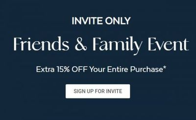 QE Home Quilts Etc Canada Friends & Family Sale Event: Save Extra 15% OFF Your Purchase + Up to 50% OFF Designer Bedding + More