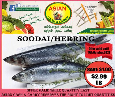 Asian Cash & Carry Flyer October 15 to 21
