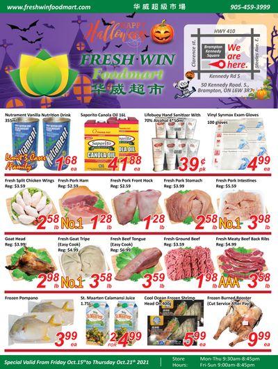 Fresh Win Foodmart Flyer October 15 to 21