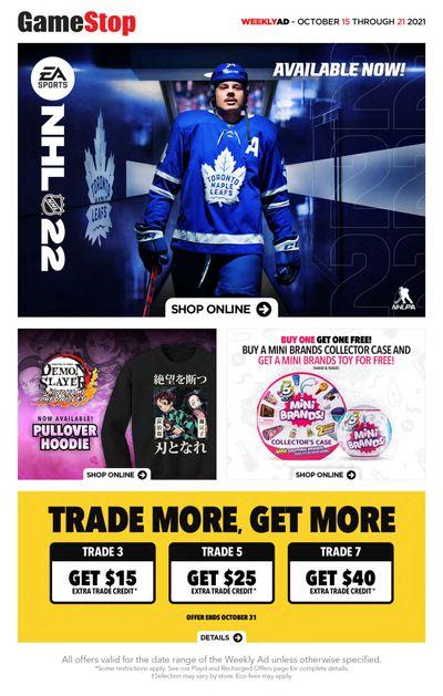 GameStop Flyer October 15 to 21
