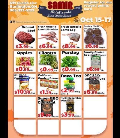 Samir Supermarket Flyer October 15 to 17