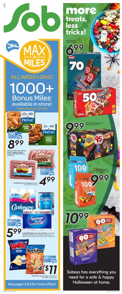 Sobeys (ON) Flyer October 21 to 27