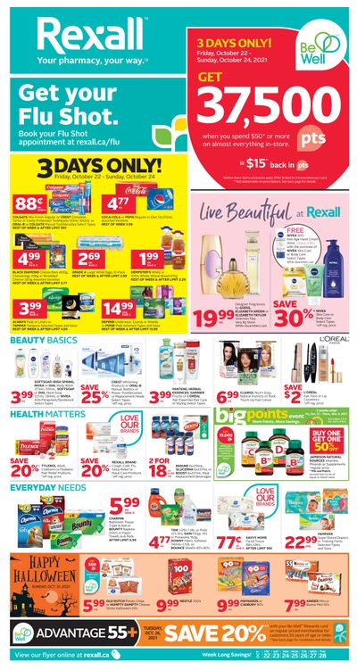 Rexall (ON) Flyer October 22 to 28
