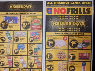 Ontario Flyer Sneak Peeks: No Frills, Food Basics, and Freshco October 21st – 27th