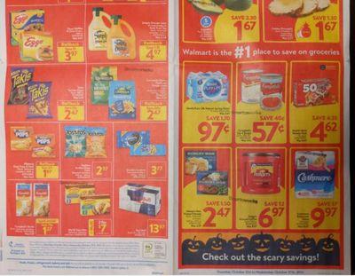 Ontario Flyer Sneak Peeks: Sobeys, Walmart, and Metro October 21st – 27th