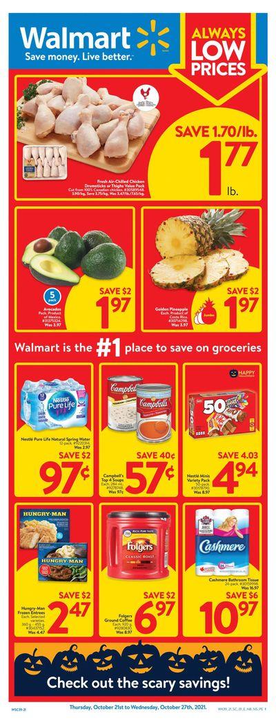 Walmart (Atlantic) Flyer October 21 to 27