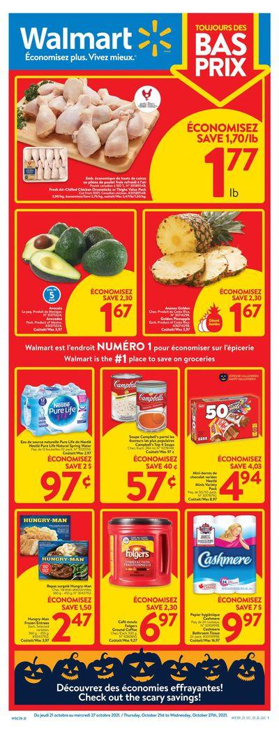 Walmart (QC) Flyer October 21 to 27